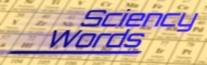 Sciency Words Logo