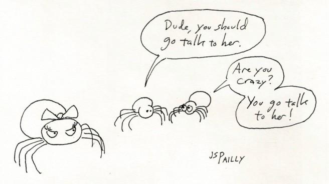 Spider Cold Feet