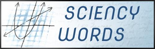 Sciency Words MATH