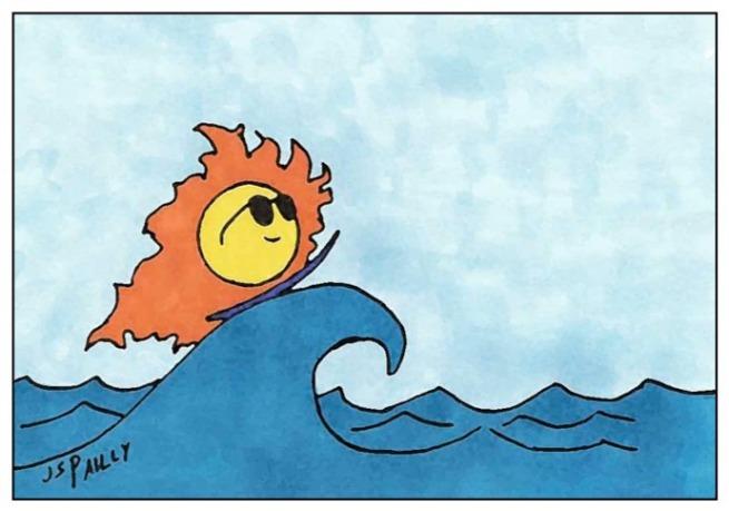 Ja09 Sun Surfing