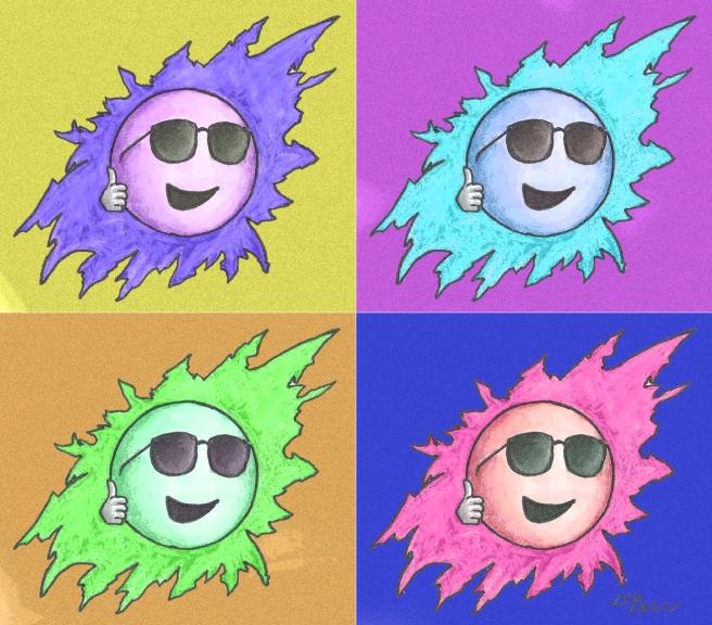 Ja11 Andy Warhol Sun
