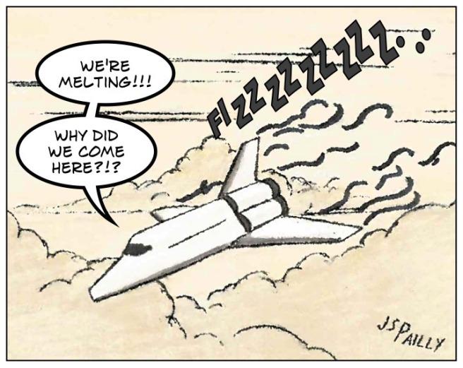 Mr04 Melting Spaceship