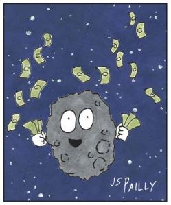 Jy07 Wealthy Asteroid