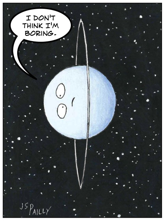 Is Uranus Boring Planet Pailly