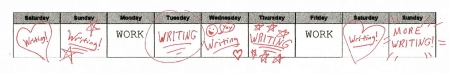 Nv02 Writing Week Schedule