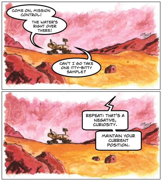 Ja07 Curiosity on Mars 1