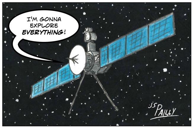 Fb10 Epic Huge Space Probe
