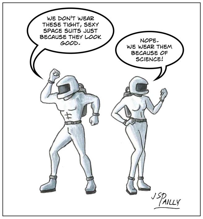 Ap07 Super Sexy Space Suits