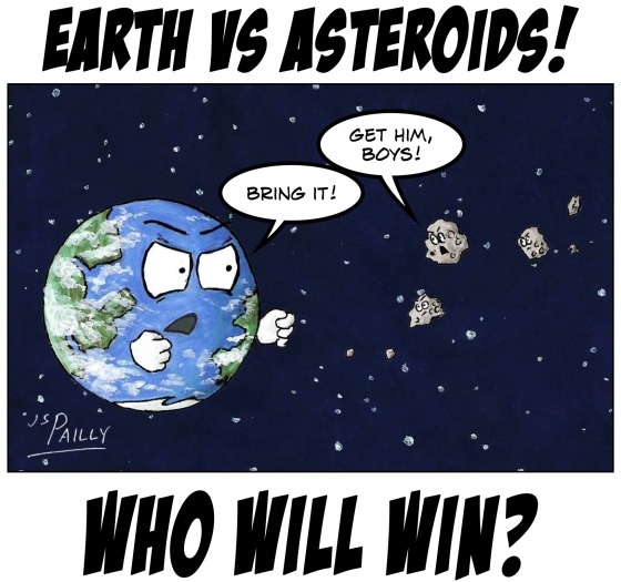 My25 Earth vs Asteroids