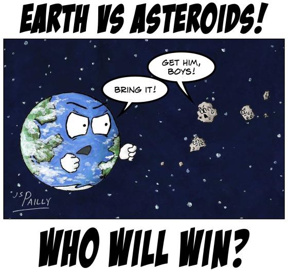 My25 Earth vs Asteroids